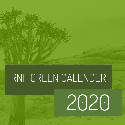 RNF Green Calender 2020
