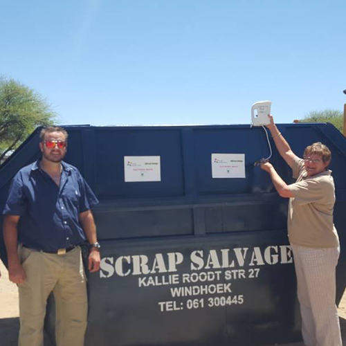 "First ""Recycling Hub"" introduced in Windhoek"