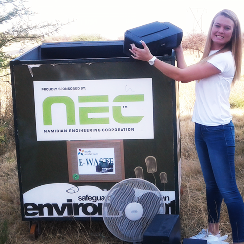 Special Day for Windhoek Recycling